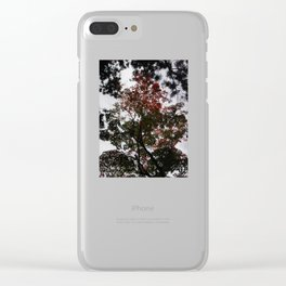 Art Drops in the Air (Japan) Clear iPhone Case