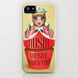 My beloved Mamushka / Matrioska iPhone Case