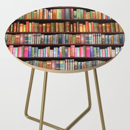 Vintage books ft Jane Austen & more Side Table