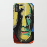 pablo picasso iPhone & iPod Cases featuring Pablo by Zmudart