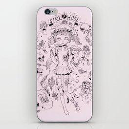 Girl♡hood iPhone Skin