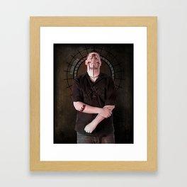 The Saint Framed Art Print