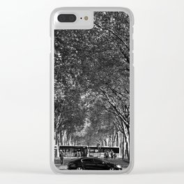 # 343 Clear iPhone Case