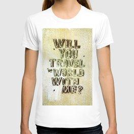 travel the world T-shirt