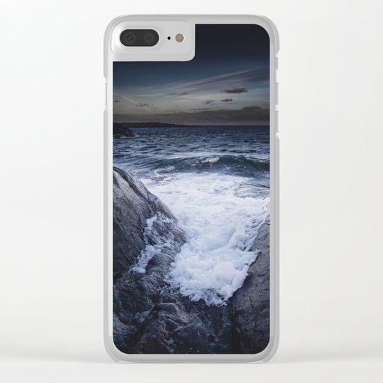 Crashing memories Clear iPhone Case