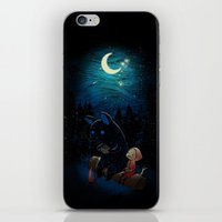 freeminds iPhone & iPod Skins featuring Camping 2 by Freeminds