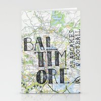 baltimore Stationery Cards featuring Baltimore by bonjourfrances