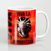 che Mugs featuring CHE-HUGGER by BeastWreck
