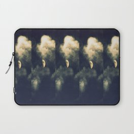 Phased Waxing Gibbous Laptop Sleeve