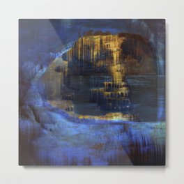 Cave 03 / The Interior Lake / wonderful world 10-11-16 Metal Print