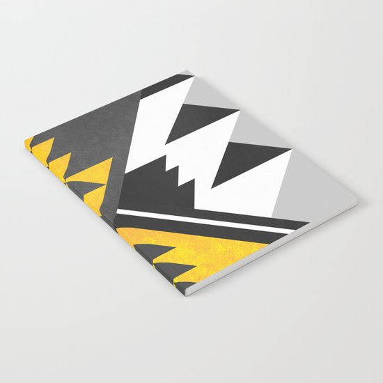 Yellow Tribal Notebook