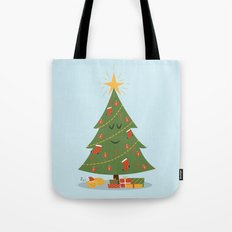 The Tree and the Cat Tote Bag