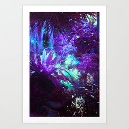 Plant Juice Art Print