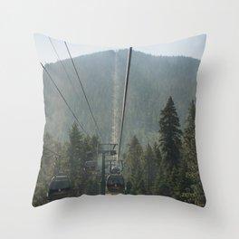 Up The Gondala Throw Pillow