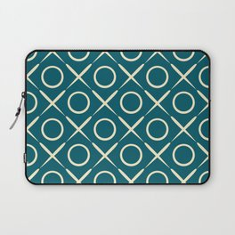 tic tac toe game pattern Laptop Sleeve