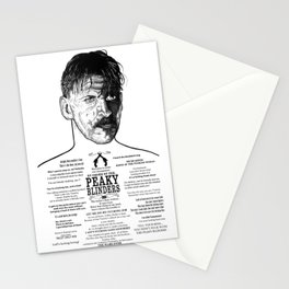 Arthur Shelby  Ink'd Series Stationery Cards