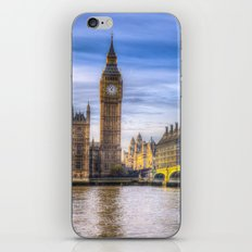 Westminster Bridge and Big Ben iPhone & iPod Skin