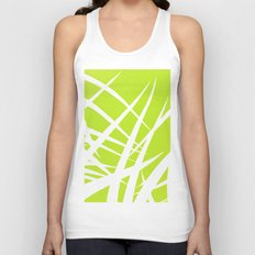 into the wind/green Unisex Tank Top