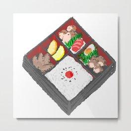 Bento Box Metal Print