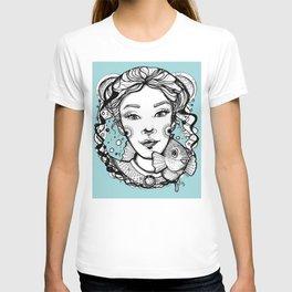 Ciro and Coralbabe Blue T-shirt