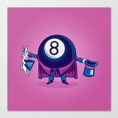 The Magic Eight Ball Canvas Print