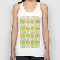 sweater Tank Tops featuring snowflake sweater by ottomanbrim