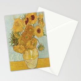 Vincent van Gogh's Sunflowers Stationery Cards