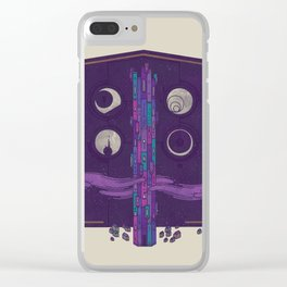 'Neath the Tower of Incomprehensible Sorcery Clear iPhone Case