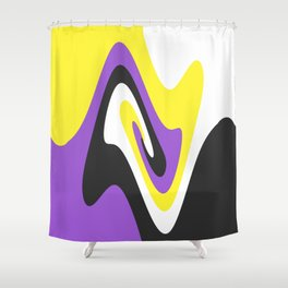 None but All Shower Curtain