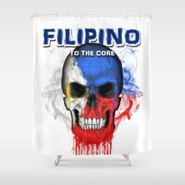 To The Core Collection: Philippines Shower Curtain