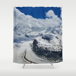 Pure Bliss in the Swiss Alps Shower Curtain