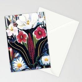 Italians Wildflowers by Joseph Stella Stationery Cards