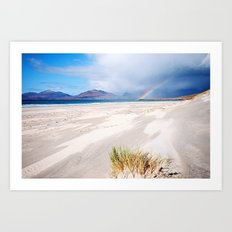 Amongst the Dunes Art Print