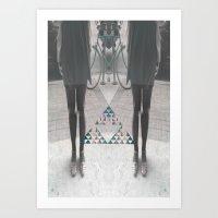 """""""Dizygotic & Disjointed"""" Art Print"""