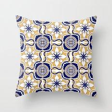 Portuguese Tiles Throw Pillow