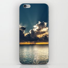 Mayle in the Bahamas iPhone Skin
