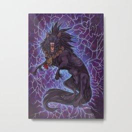 Electrify Metal Print