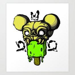 Monsterpop Art Print