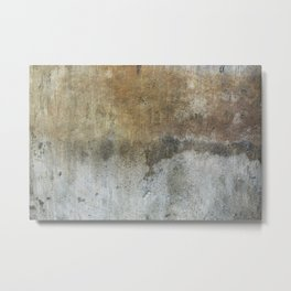 Stained Concrete Texture 9416 Metal Print