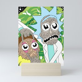 Trippin Rick Mini Art Print