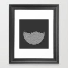 Ocean of Noise Framed Art Print