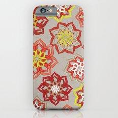Fresh Cut Flowers Slim Case iPhone 6s