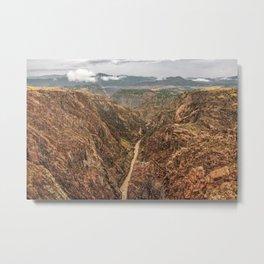 Royal Gorge Landscape Metal Print