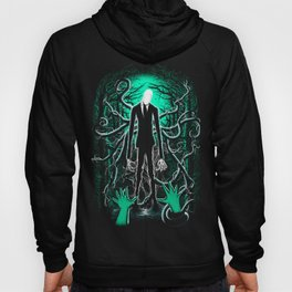 Slender Man (sea green color) Hoody