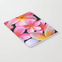 Pink Plumerias Notebook
