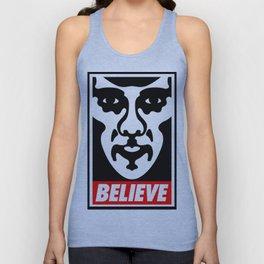 Believe - Sherlock Unisex Tank Top