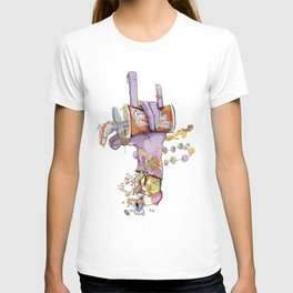 CandyHand Zombie  T-shirt