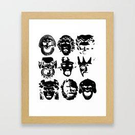 Tragedy Framed Art Print