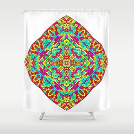Four Owls Mandala Shower Curtain