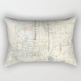 French Paris Letters Rectangular Pillow